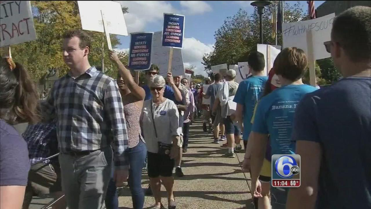 VIDEO: Faculty strike