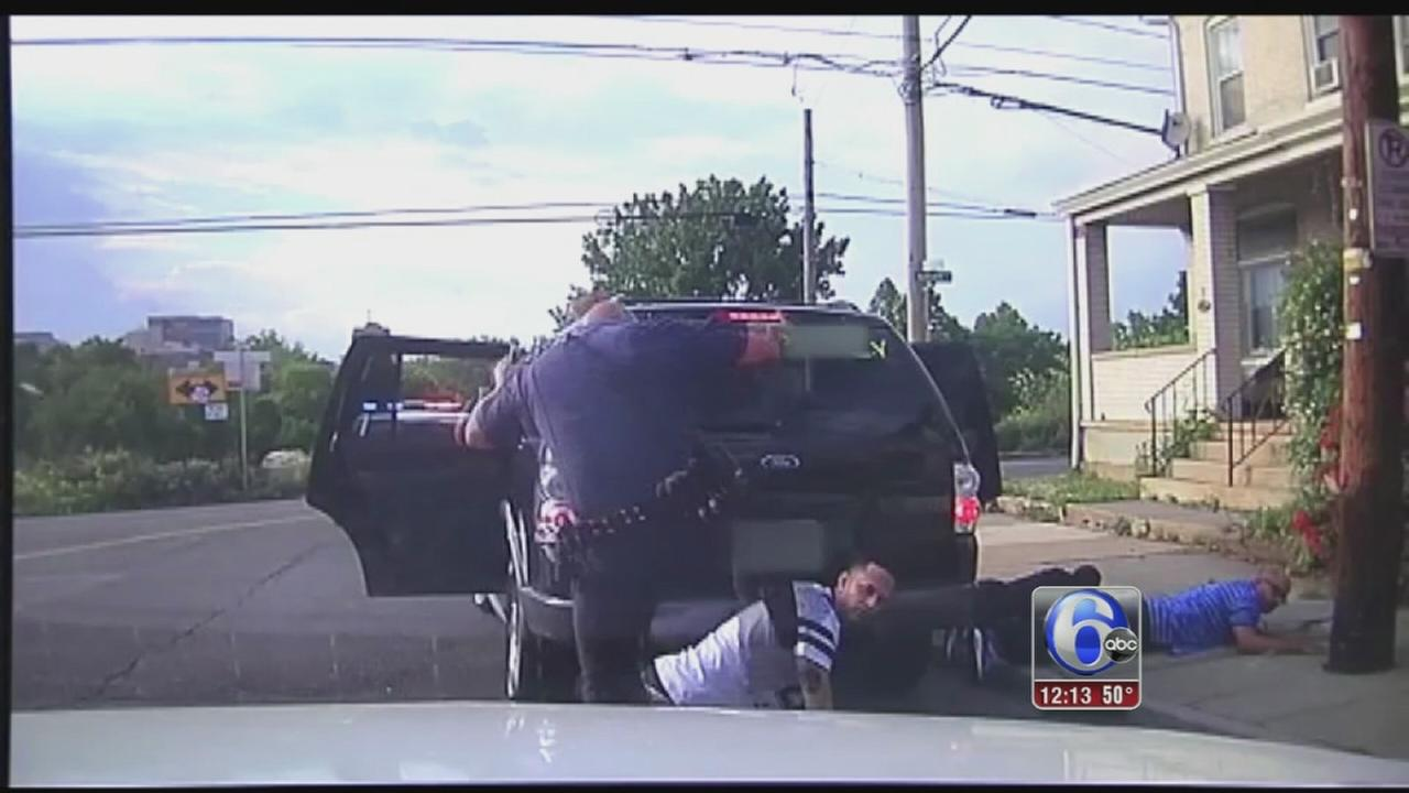 VIDEO: Man kicked by officer during arrest