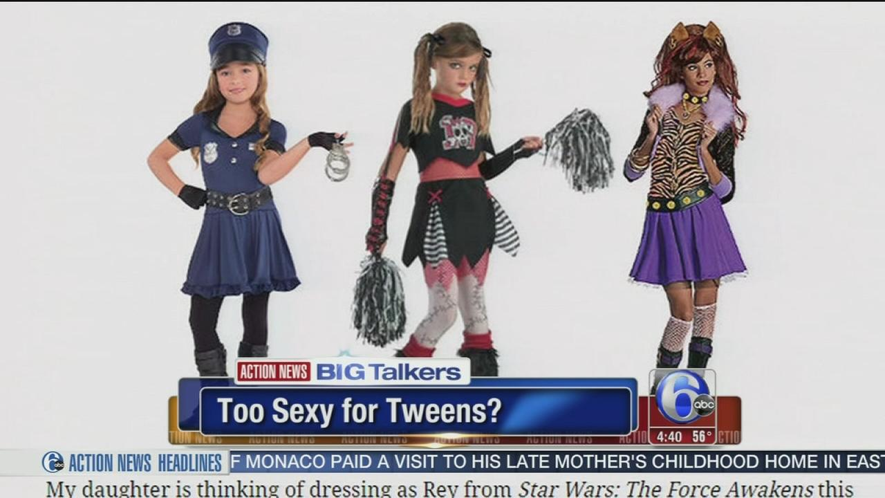 VIDEO: Moms blog against overly sexy tween Halloween costumes goes viral