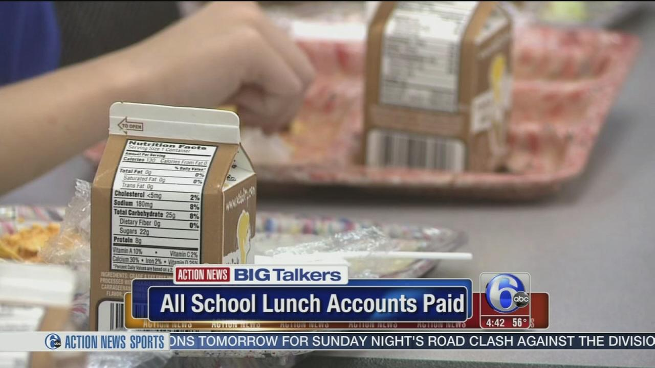 VIDEO: Man donates to school to cover all overdue student lunch balances