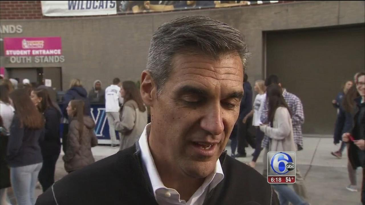 VIDEO: Honoring the National Champion Villanova Wildcats