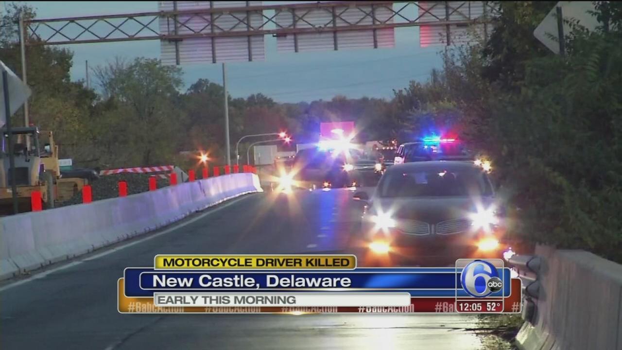 VIDEO: Motorcyclist killed in Delaware