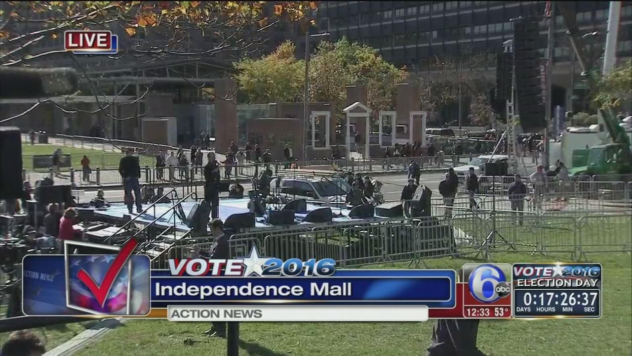 VIDEO: Preparations underway for rally