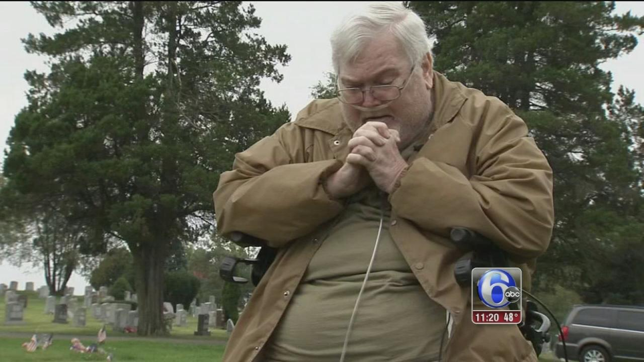 VIDEO: Father told he must pay extra for date on sons grave