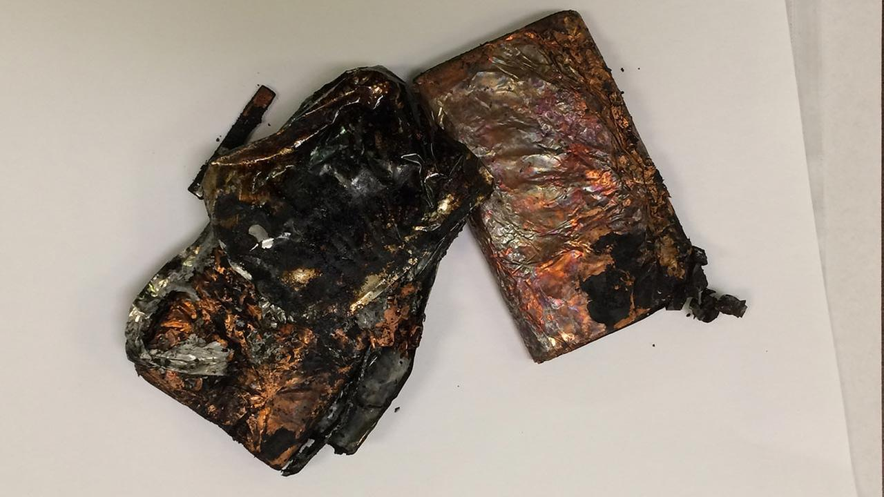 Cell phone charger fire sends Rowan student to hospital