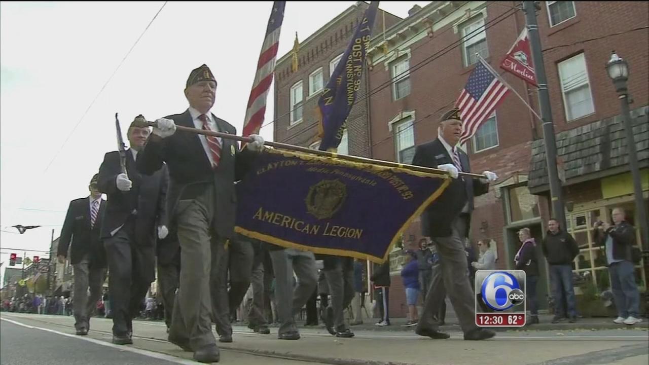 VIDEO: Honoring veterans in Delco