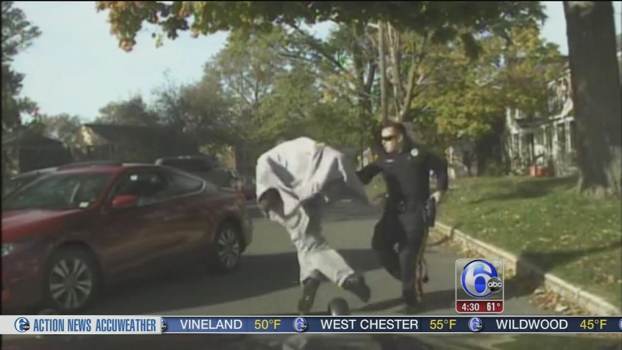 VIDEO: Dashcam video shows NJ police-involved shooting