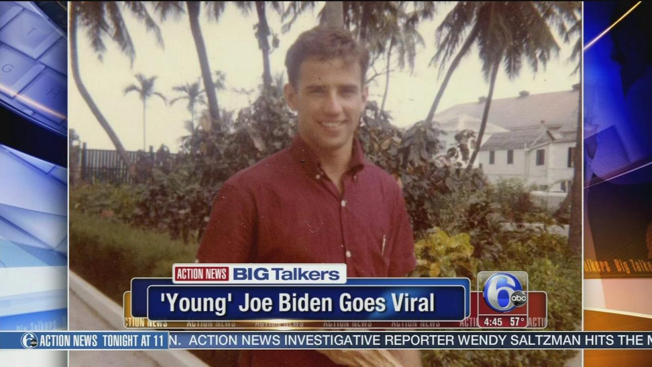 VIDEO: Photo of young Vice President Joe Biden goes viral
