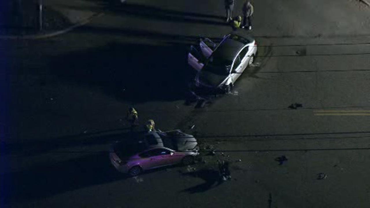 Several injured in Gloucester Township crash