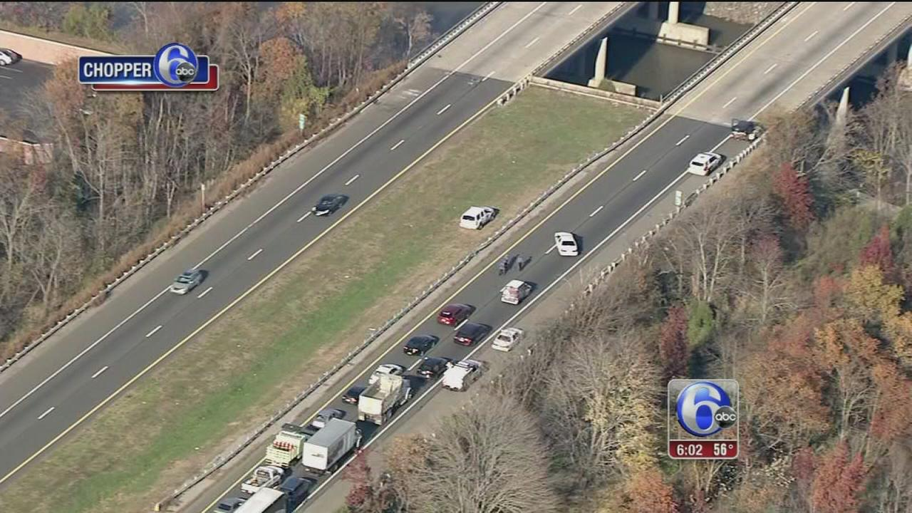 VIDEO: Child ejected from vehicle in I-295 crash
