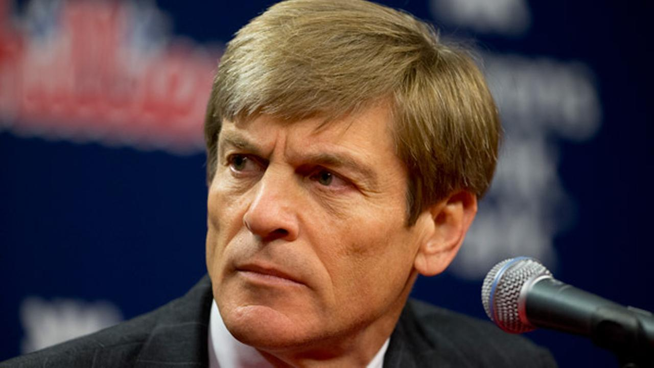 Philadelphia Phillies part-owner John Middleton during a news conference about Phillies incoming general manager and vice president Matt Klentak on Monday, Oct. 26, 2015.