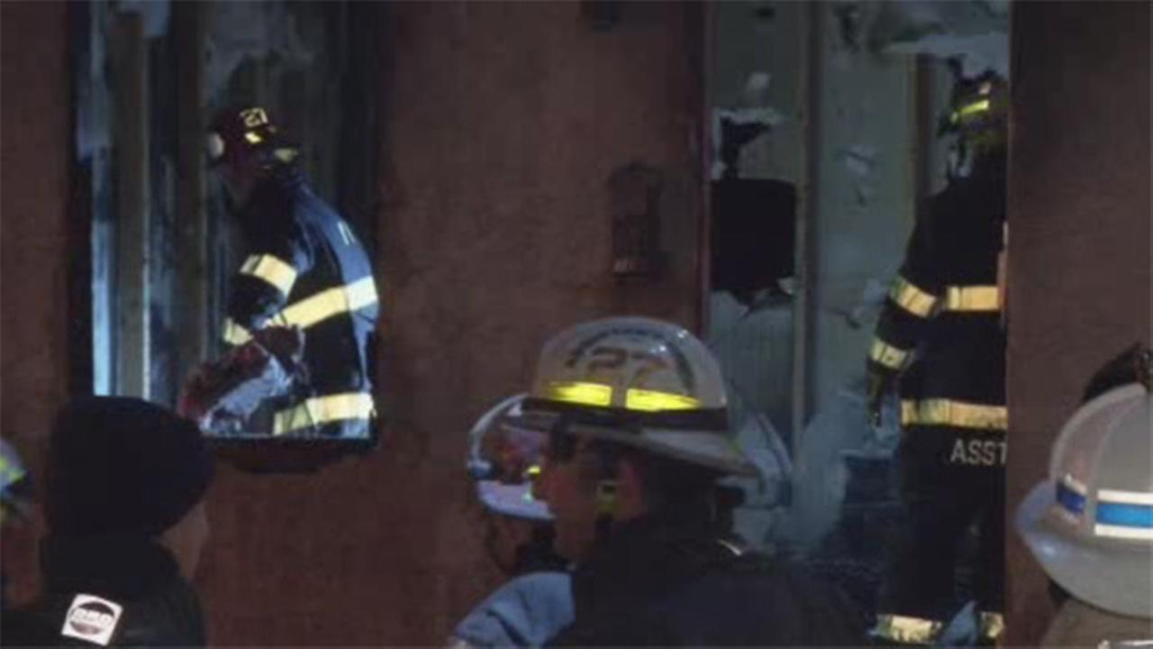 1 person rescued from row home blaze in Montco