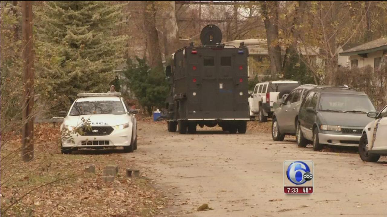 VIDEO: Barricaded man