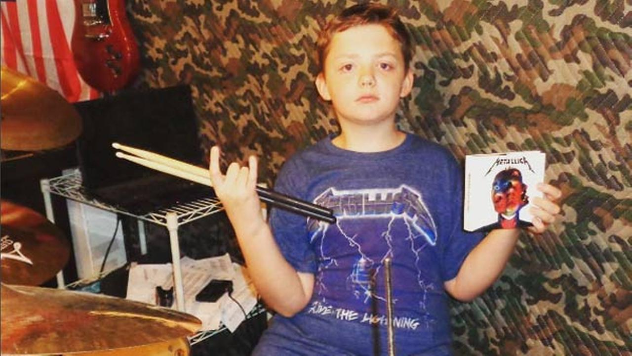 Metallica praises 10-year-old drummer's cover