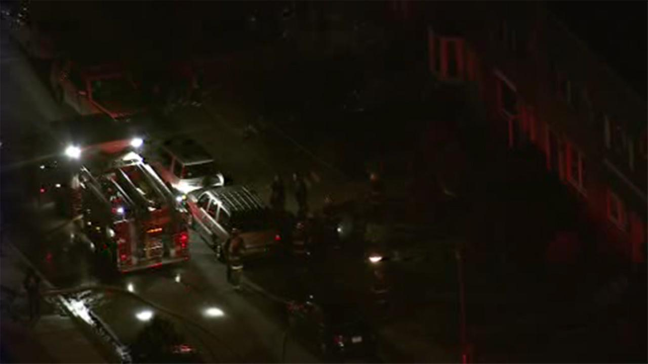 A 65-year-old man is critical after a house fire in Philadelphias West Oak Lane section.