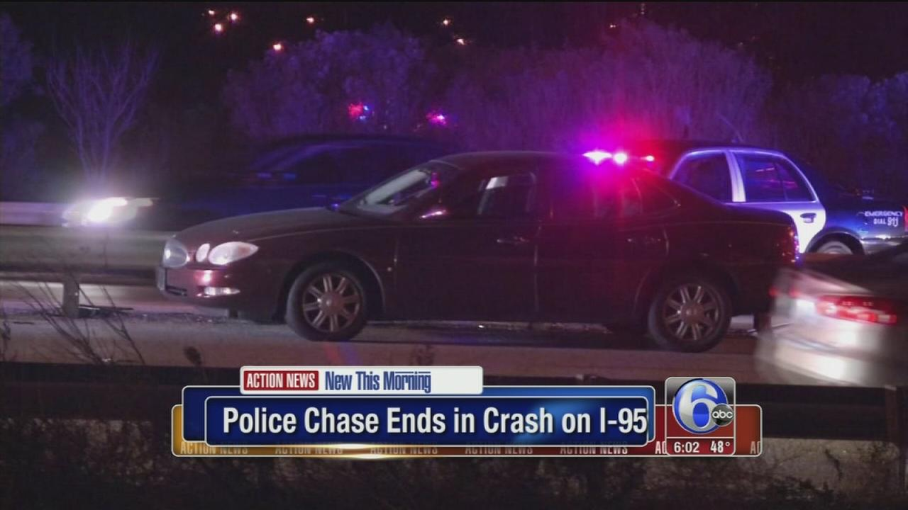 VIDEO: Police chase on I-95