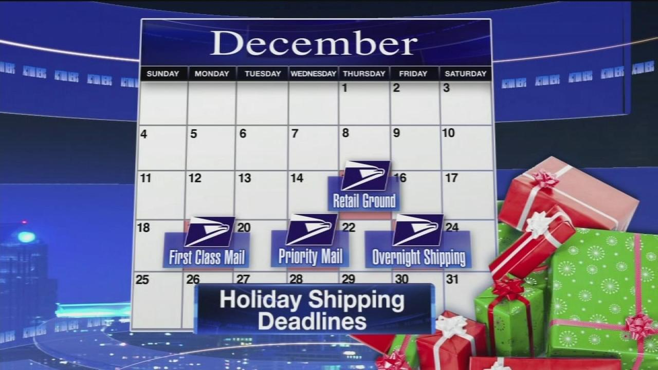 VIDEO: Shipping deadlines