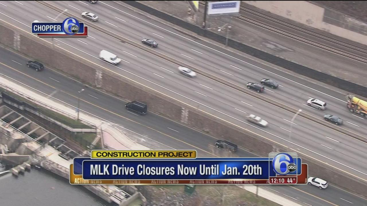 VIDEO: MLK Drive road closures