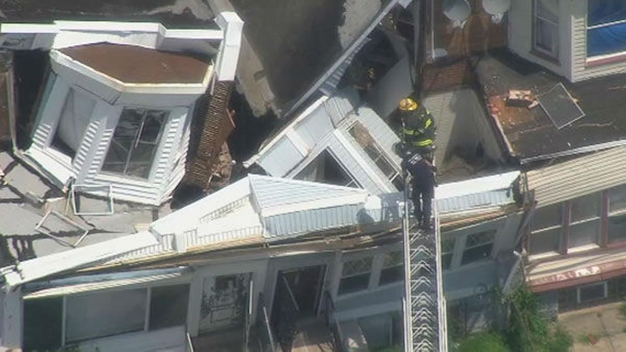 PHOTOS: Cobbs Creek house collapse