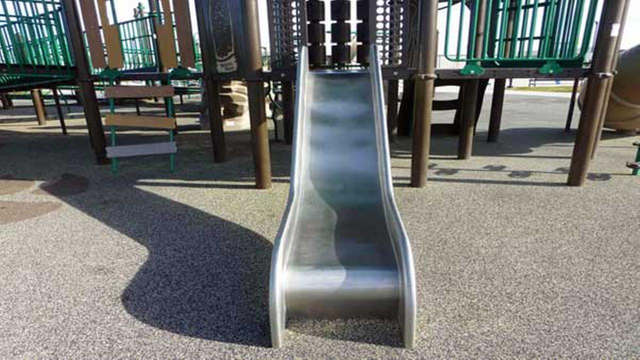 Playworld recalls 1,300 playground slides because of hazard