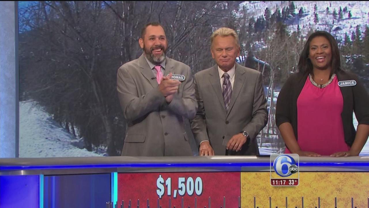 VIDEO: Wheel of Fortune appearance bittersweet for NJ man