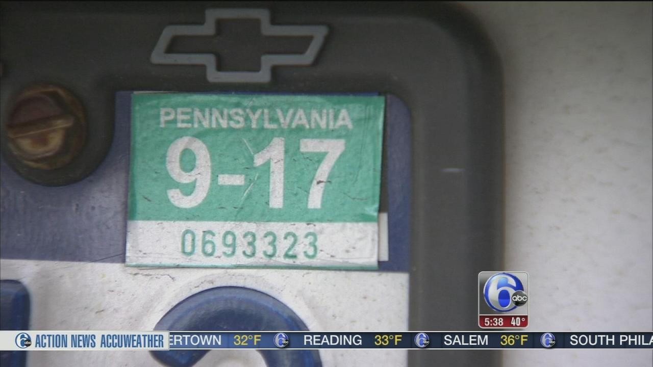 Pennsylvania to eliminate vehicle registration stickers | 6abc.com