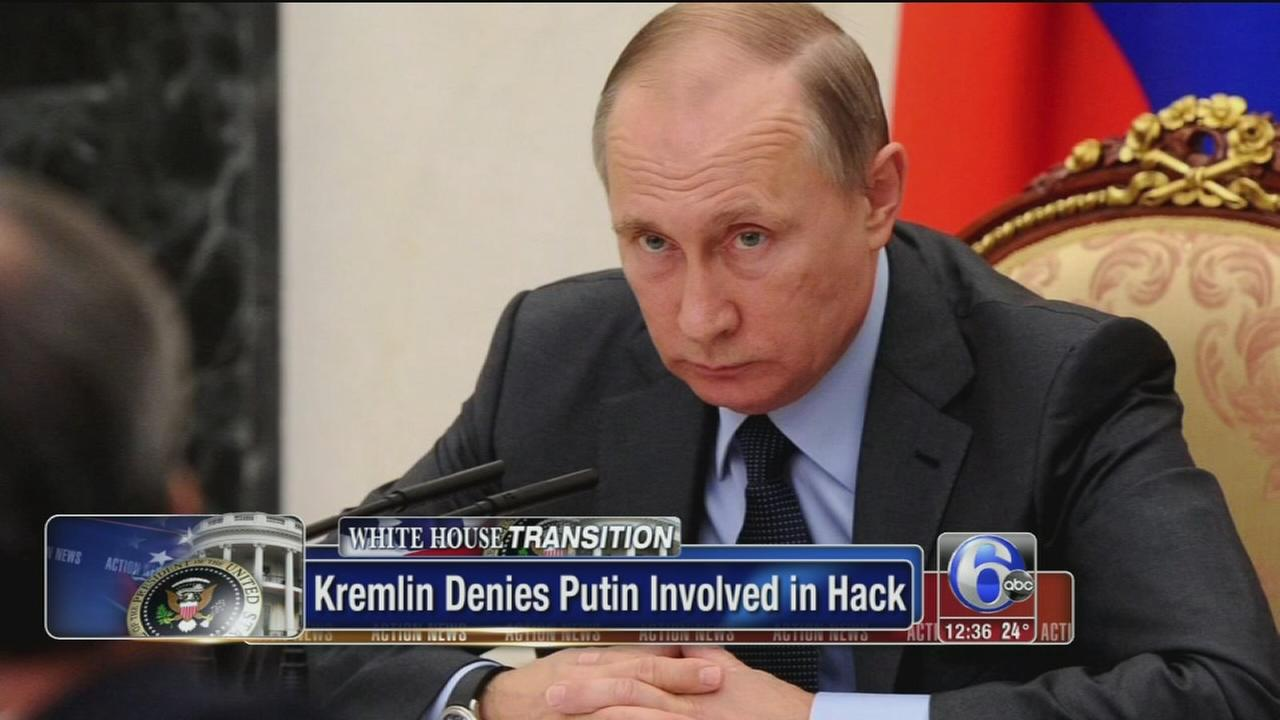 Putin now directly linked to US hacking