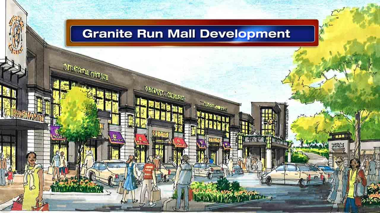 The defunct Granite Run Mall in Middletown, Delaware County along busy Baltimore Pike is getting a second life.