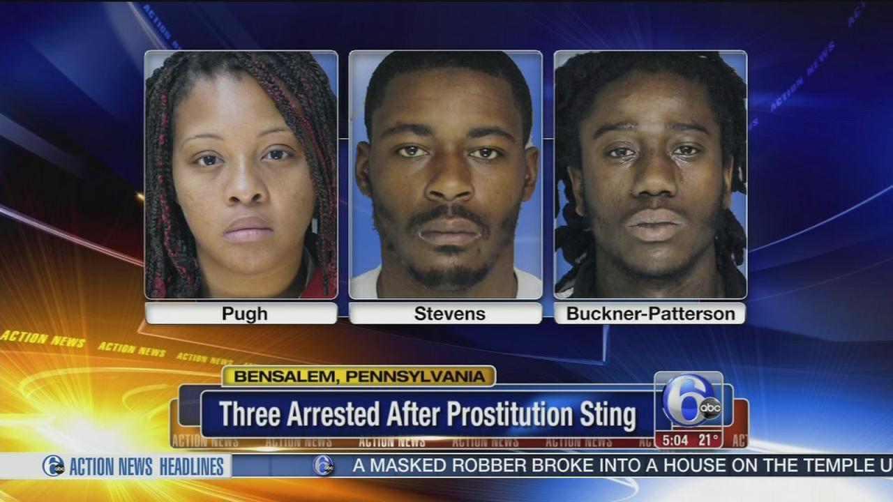 3 arrested in Bensalem prostitution sting