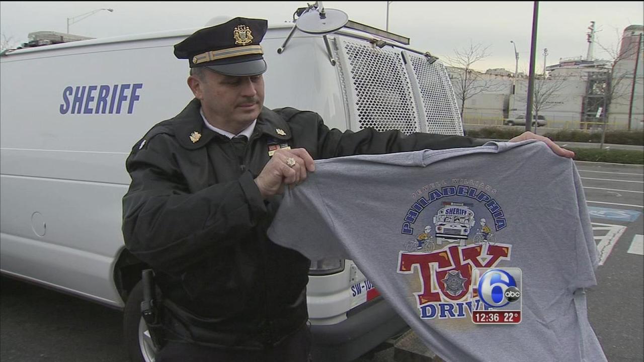 Phila. Sheriffs Office spearheads toy drive