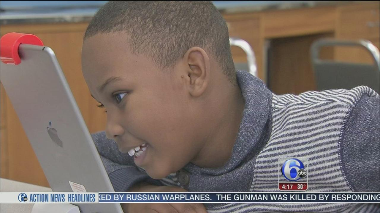 new technology helping visually impaired students