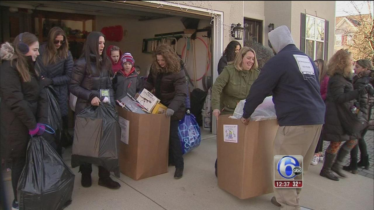South Jersey family remembers loved one by giving back