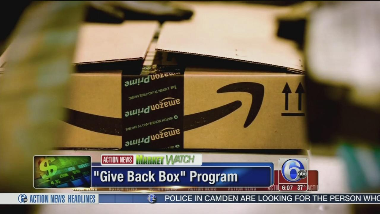 VIDEO: Amazon program lets you donate unwanted boxes to Goodwill