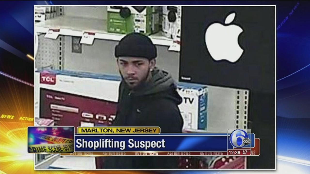 Thief swipes prepaid cell phones from Target in Marlton