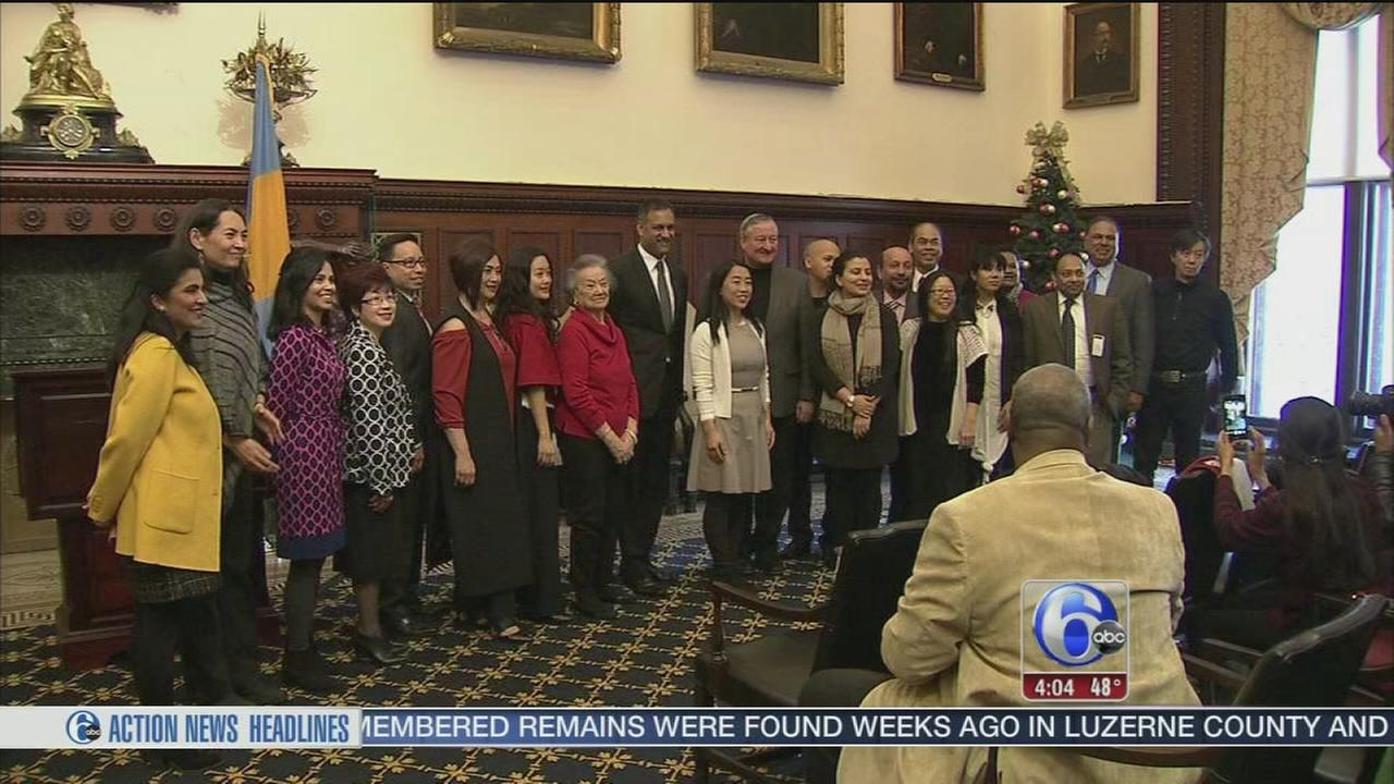Mayor Kenney debuts new council