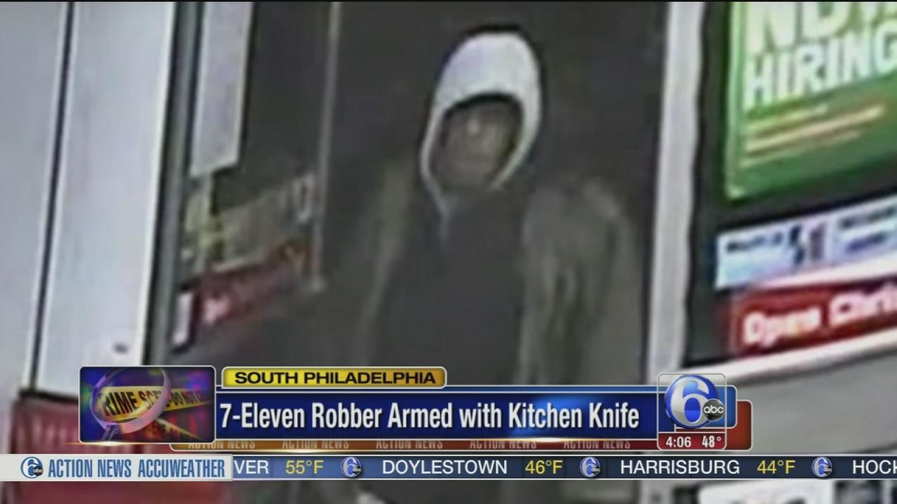 7-Eleven armed robber