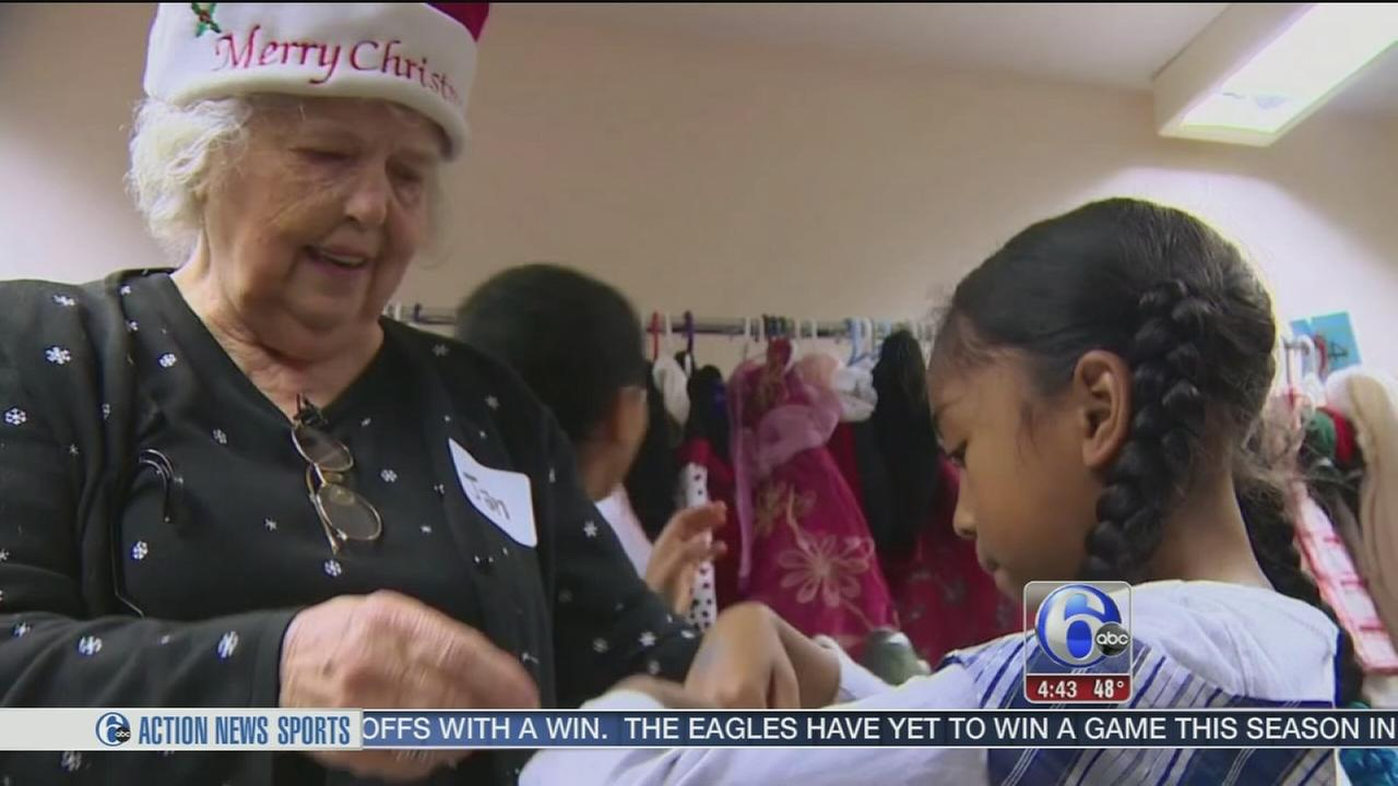 Former orphan donates Christmas dresses to help girls feel beautiful