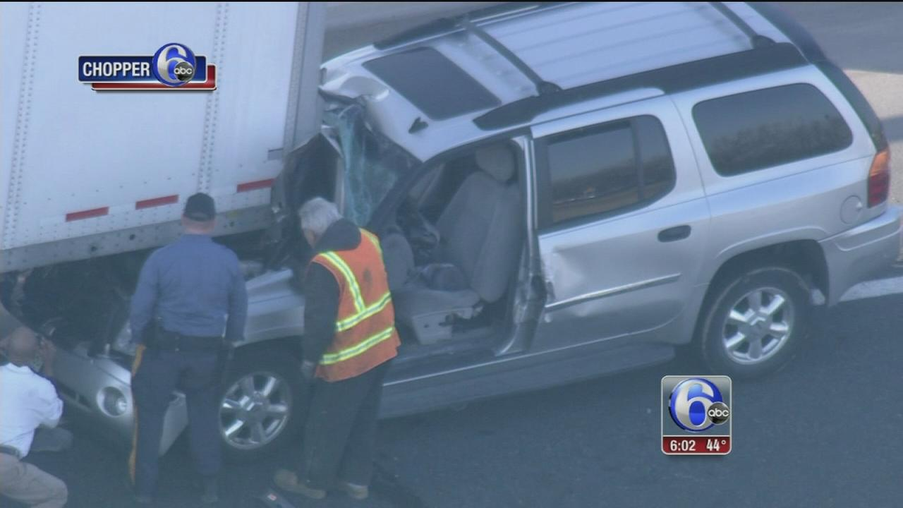 I-76 ramp to I-295 in Bellmawr reopens after serious accident
