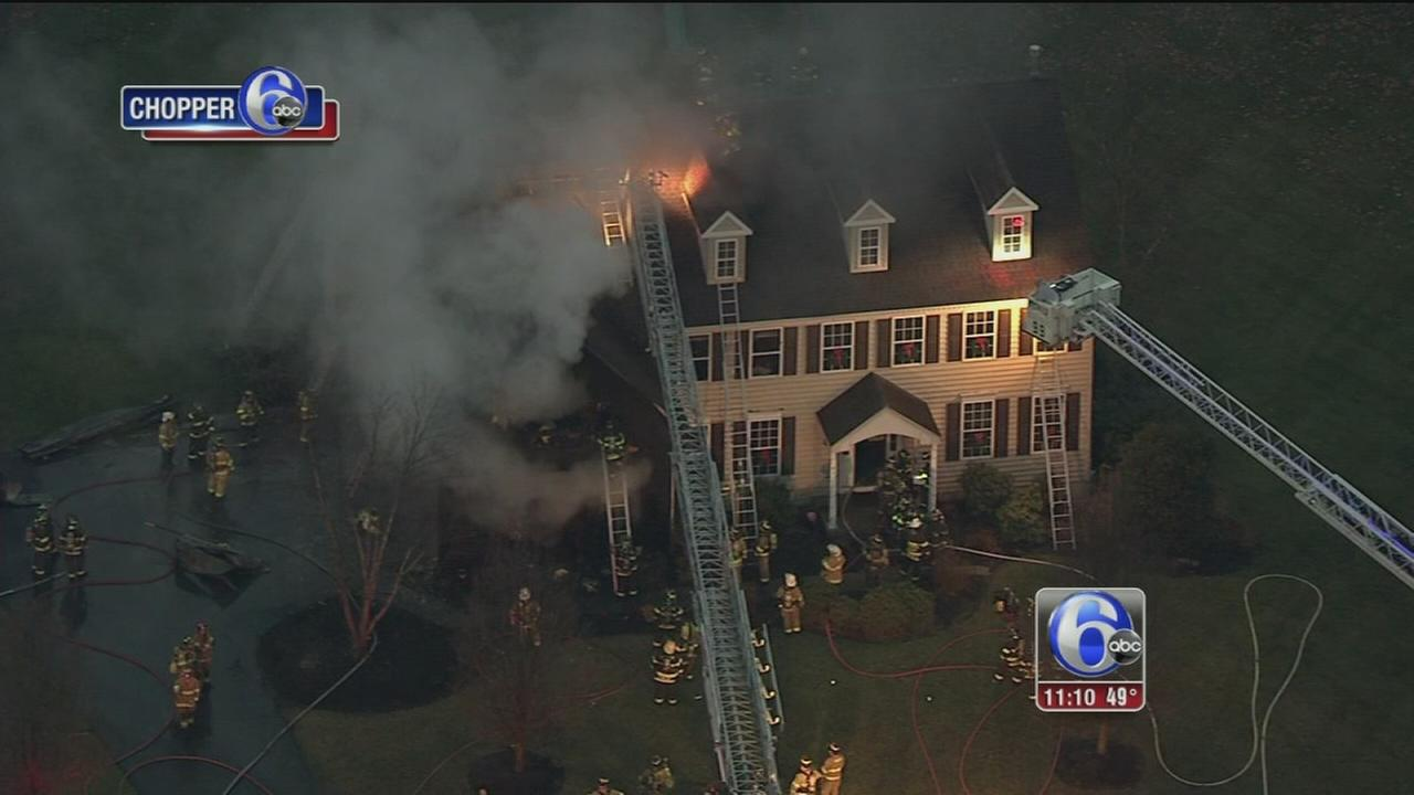 2-alarm fire in Upper Providence Twp.