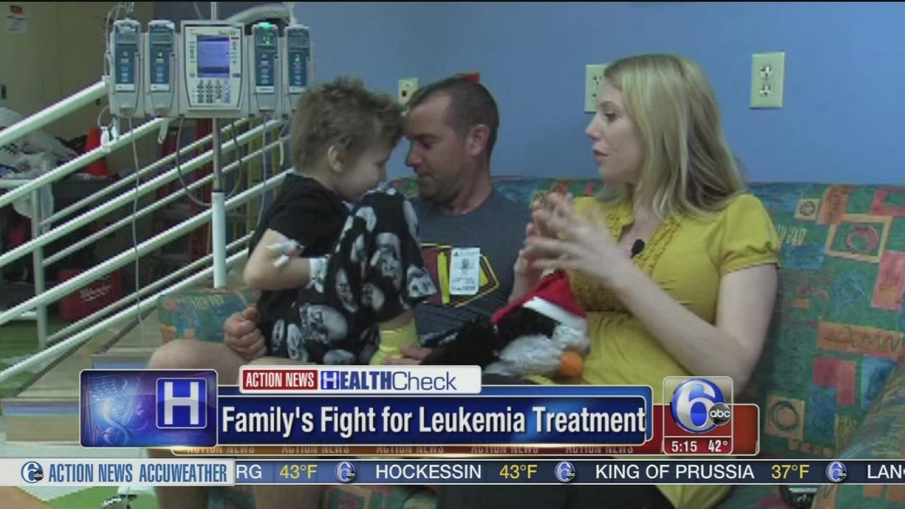 VIDEO: Family wins fight for leukemia treatment