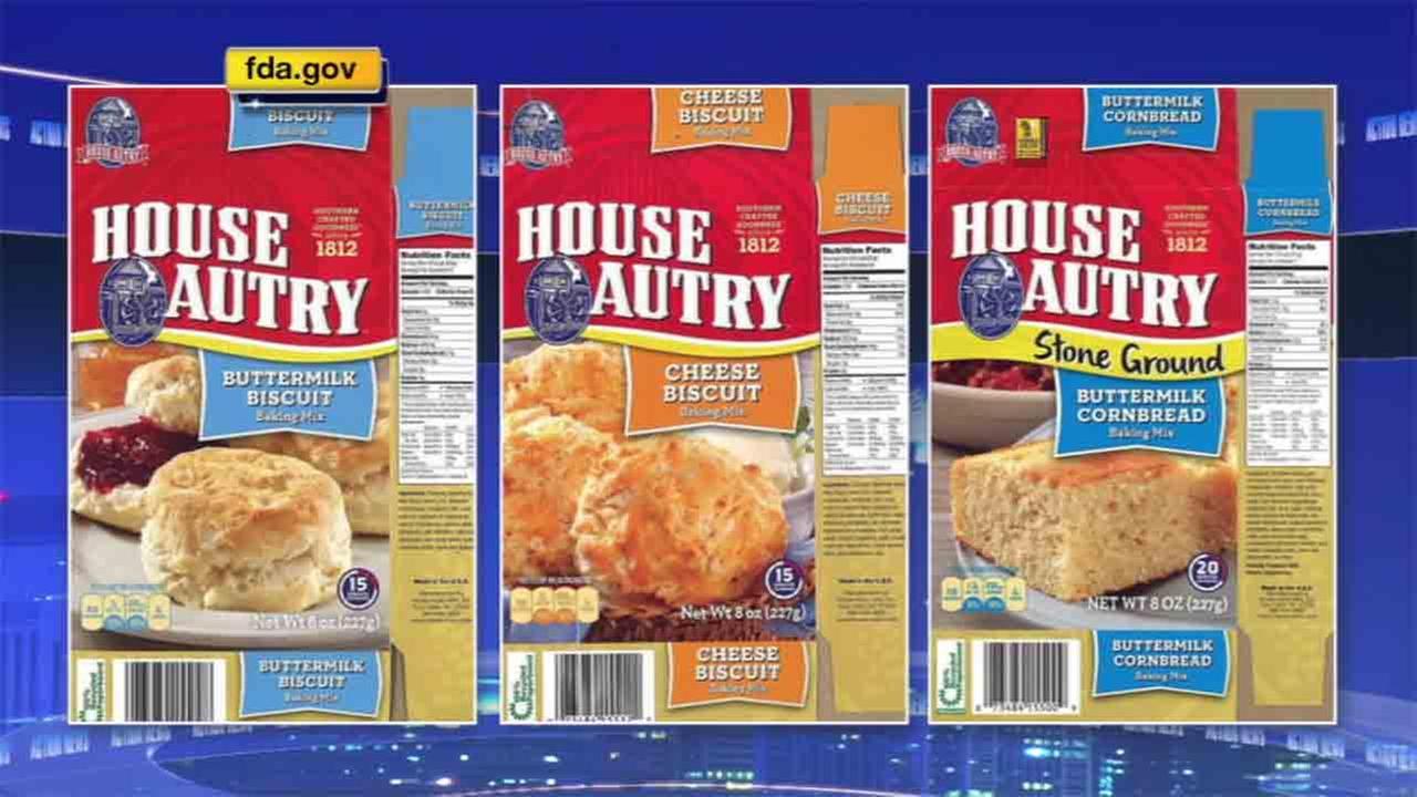 Biscuit, cornbread mixes recalled due to salmonella concern