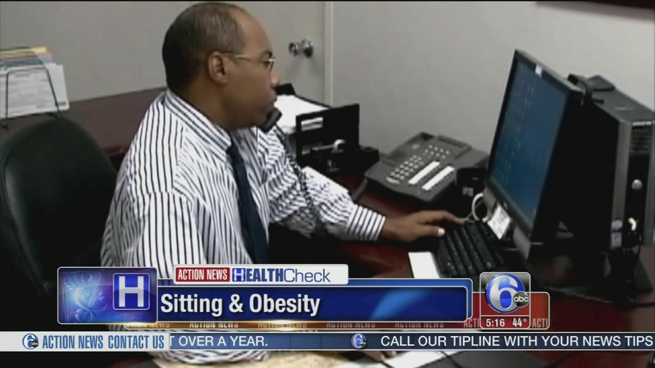 VIDEO: Sitting a major driver in obesity for men