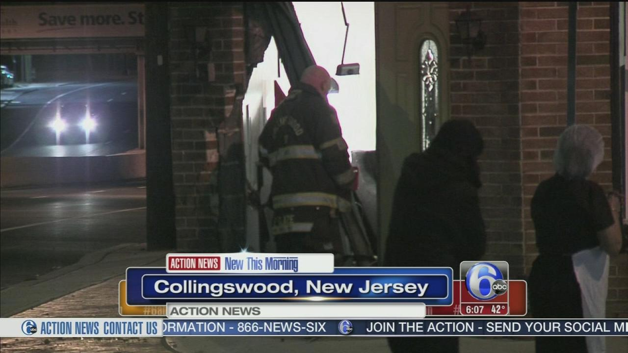 Driver crashes into Collingswood store