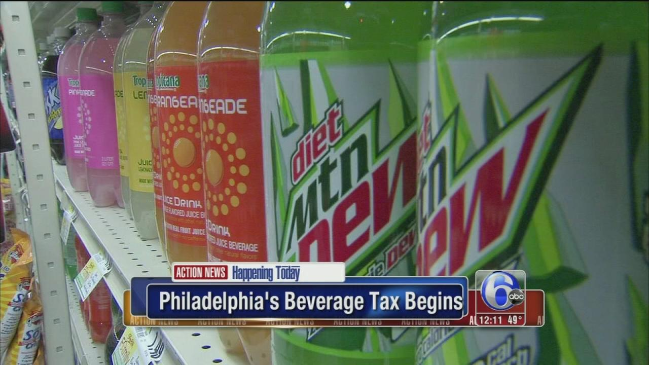 Philadelphias beverage tax begins