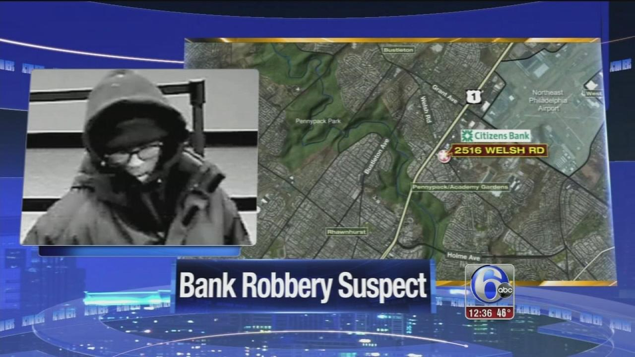 Police, FBI search for Christmas Eve bank robber