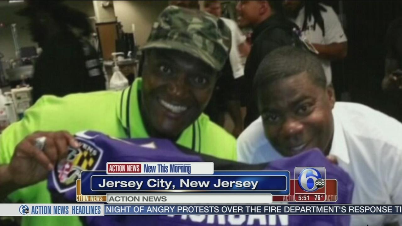 VIDEO: Prayer vigil held for comedian injured with Morgan