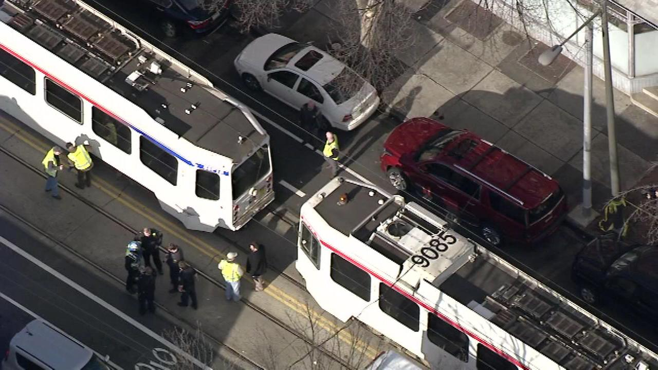 Action News was on the scene after SEPTA trolleys collided in West Philadelphia.