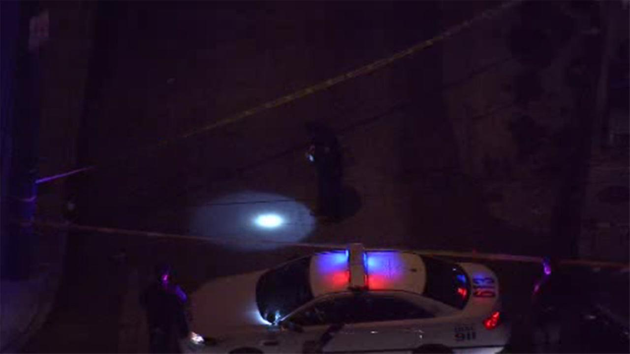 Police say a man was shot while driving in North Philadelphia.