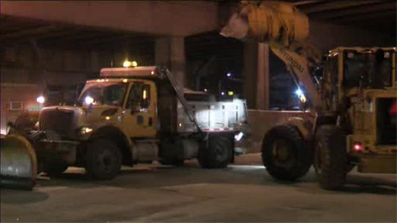 Philly Streets Dept. deploys trucks due to snow