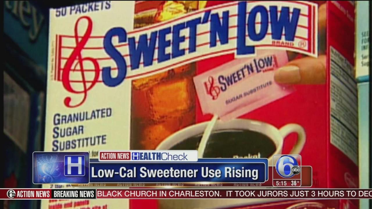 Consumption of low-calorie sweeteners on the rise